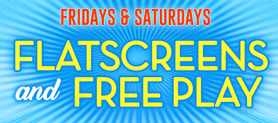 Flat Screens And Free Play 960x426