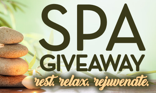 Spa Giveaway 500x300