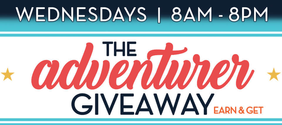 The Adventurer Giveaway