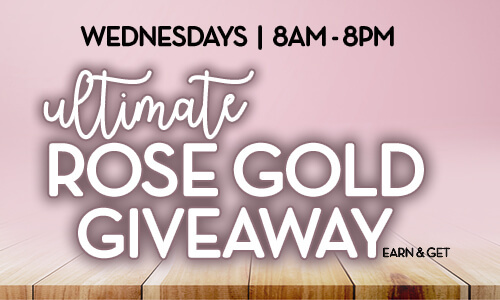 Ultimate Rose Gold Giveaway